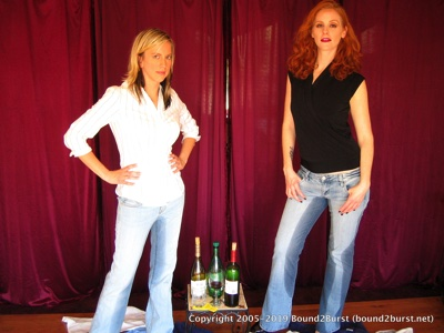 Tabitha & Sienna: Holding Contest 4 Remastered (MP4)