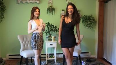 Jasmine & Becca: Jasmine & Becca Holding Contest (MP4)