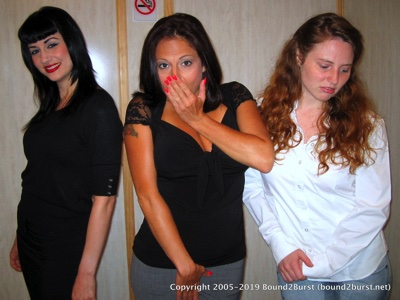 Jayne, Lola Lynn & Nyxon: Trapped In An Elevator 3 Remastered (MP4)