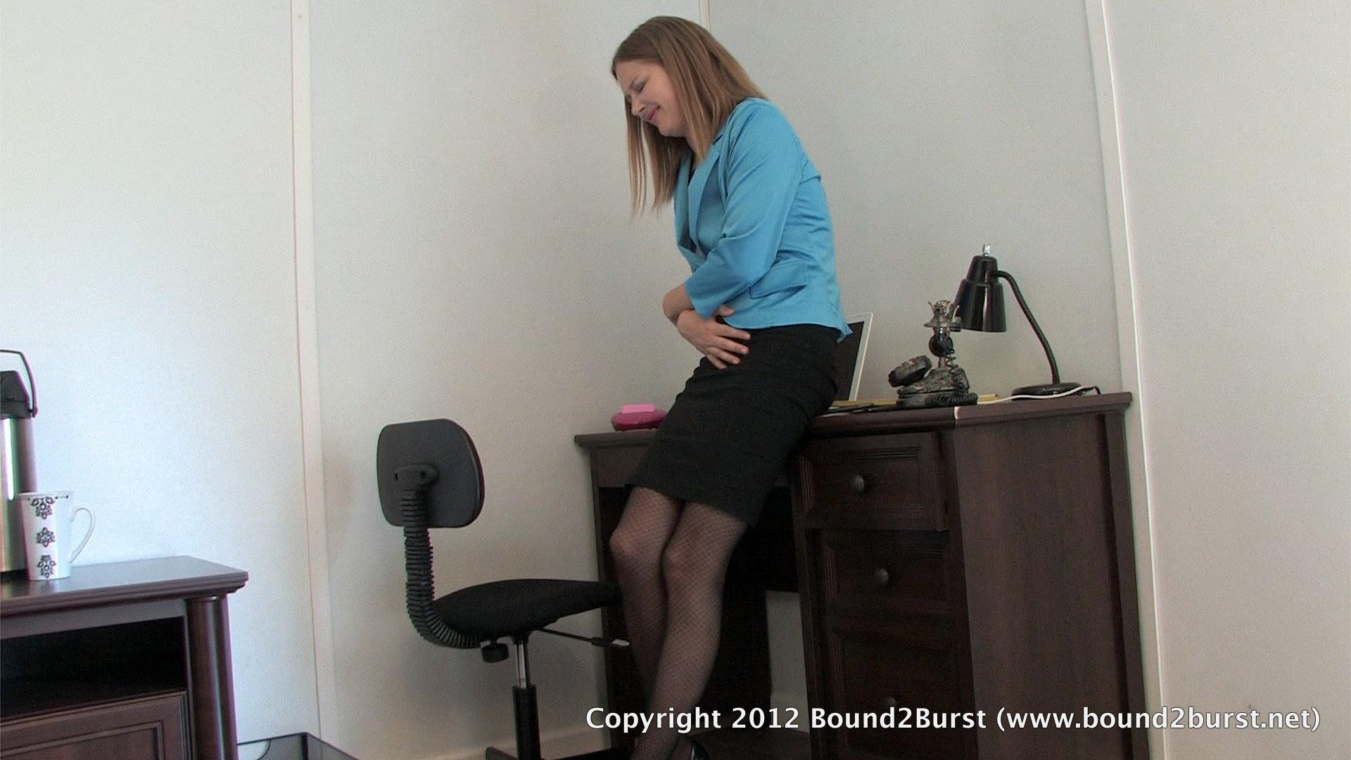 peeing boss